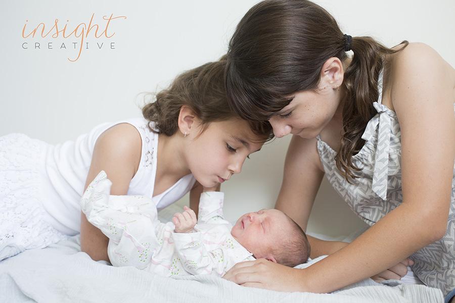 natural newborn photos shot by townsville photographer Insight Creative
