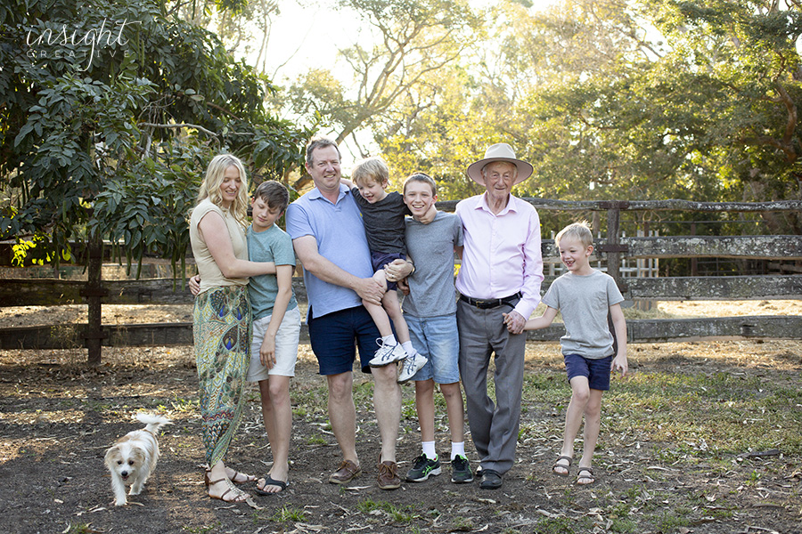natural family photos shot by Townsville photographer Megan Marano from Insight Creative photography studio