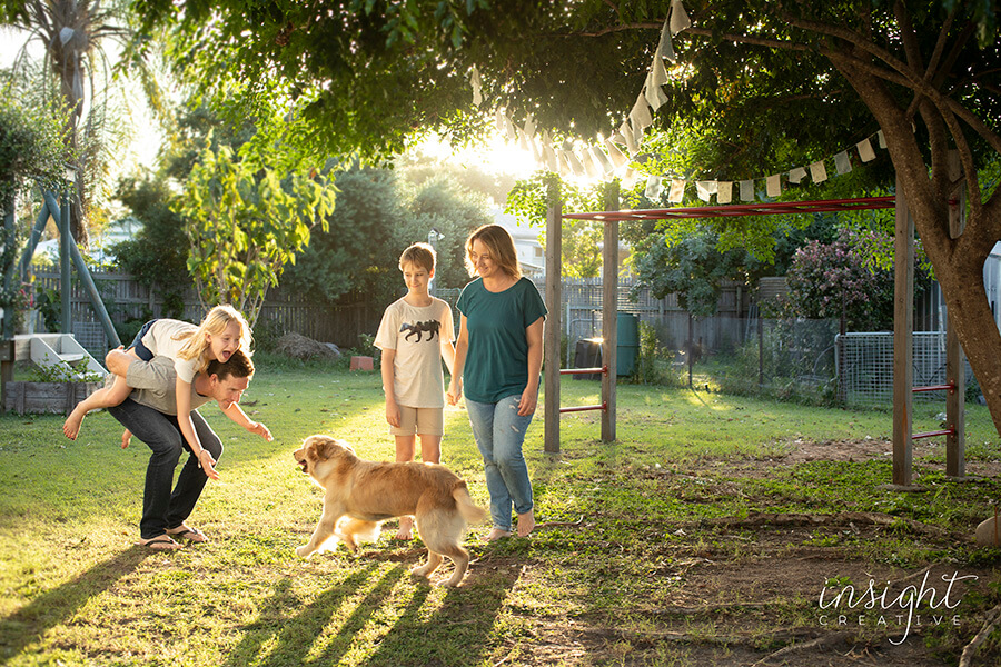 natural family photography shot by townsville photographer Megan Marano from Insight Creative