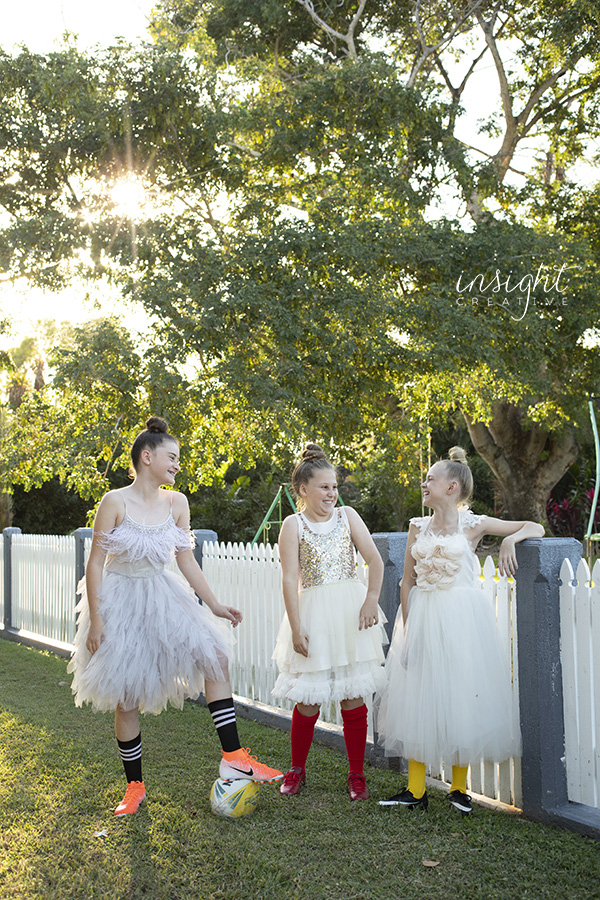 natural photo of girls shot by Townsville photographer Megan Marano from Insight Creative