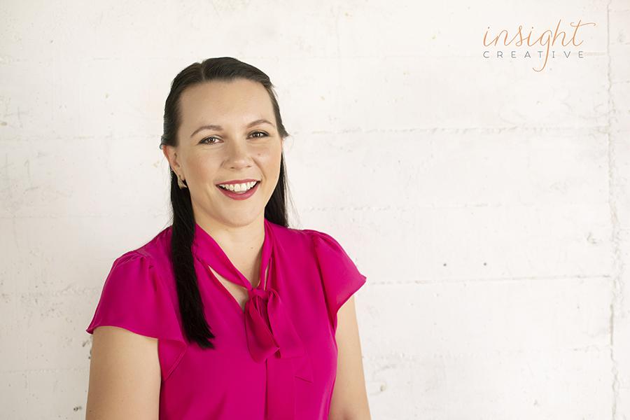 natural creative headshots by Megan Marano from Townsville photography studio Insight Creative